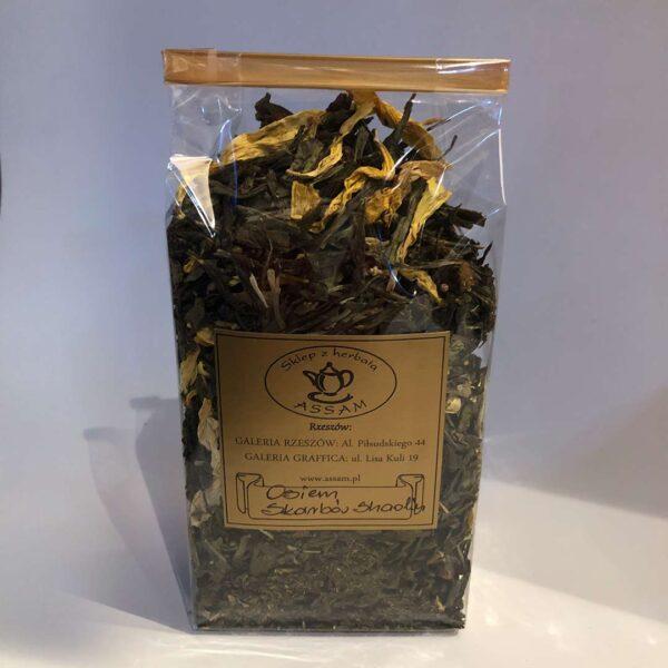 Osiem Skarbow Shaolin herbata zielona z dodatkami
