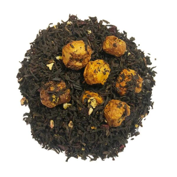 Herbata czarna Assam z wiśnią i figą